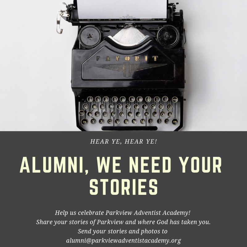 Alumni we need your stories