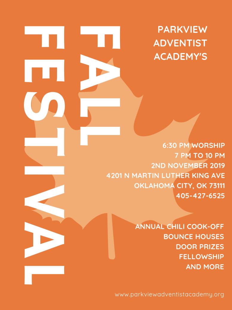 PAA Fall Festival